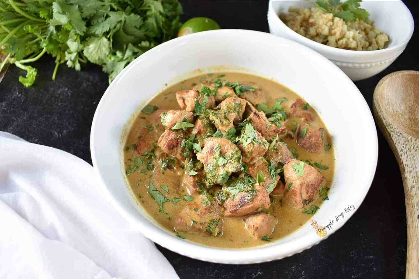 Green Curry Pork Tenderloin