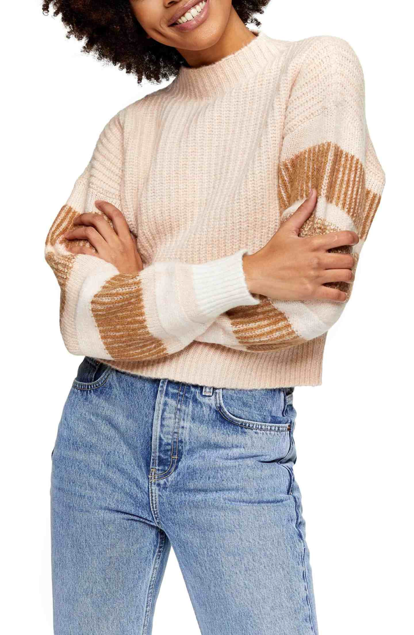 Stripe-Crewneck-Sweater