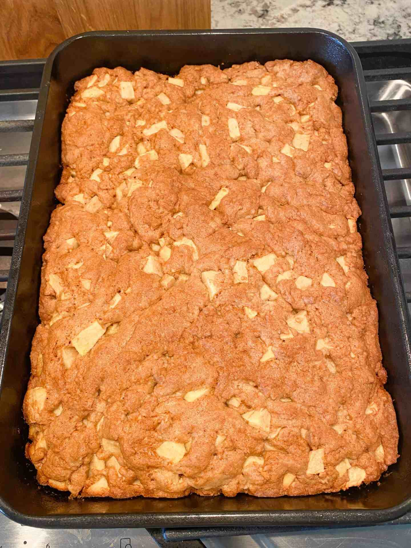 Apple-Bread-finished-baking