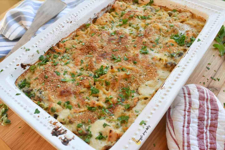 Chicken-Tetrazzini-pasta
