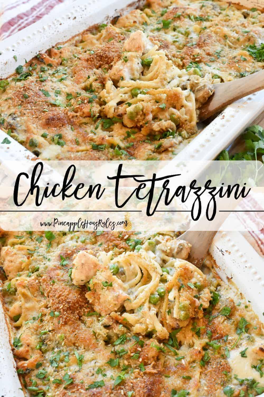 Chicken-Tetrazzini