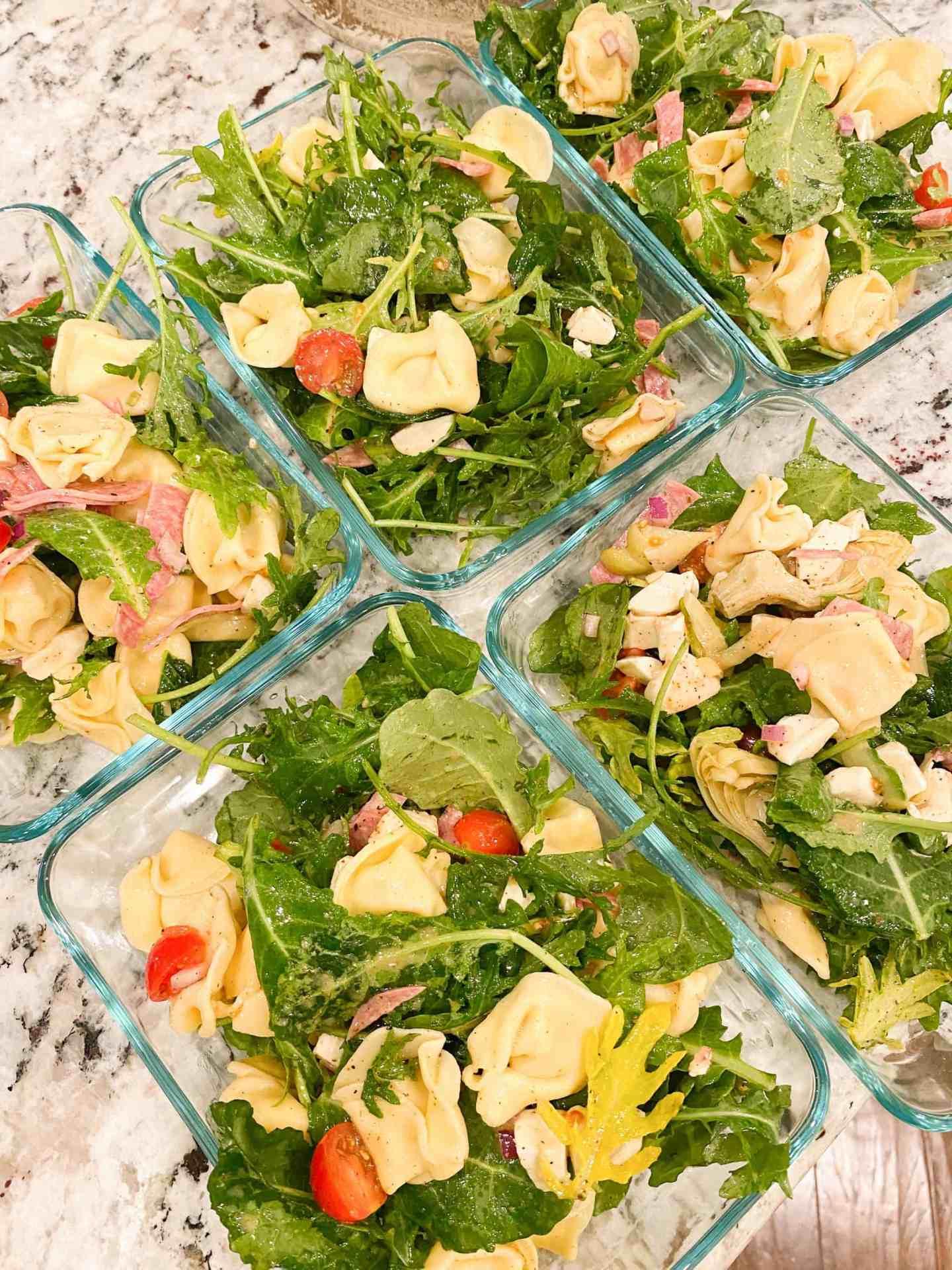 Tortellini-and-Antipasto-Salad-with-Italian-Vinaigrette-easy-lunch