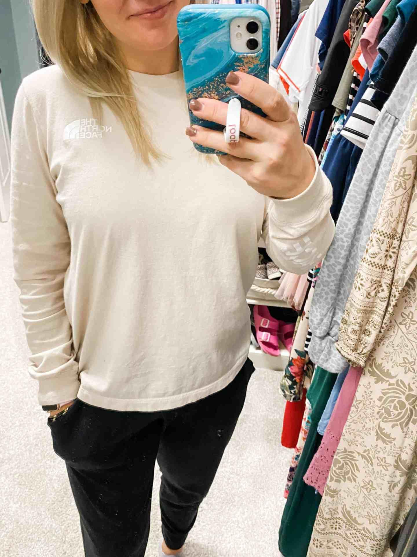 north-face-long-sleeve-t-shirt-women