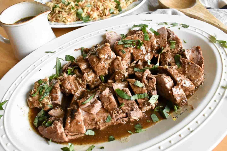 Savory Slow Cooker Pork Tenderloin