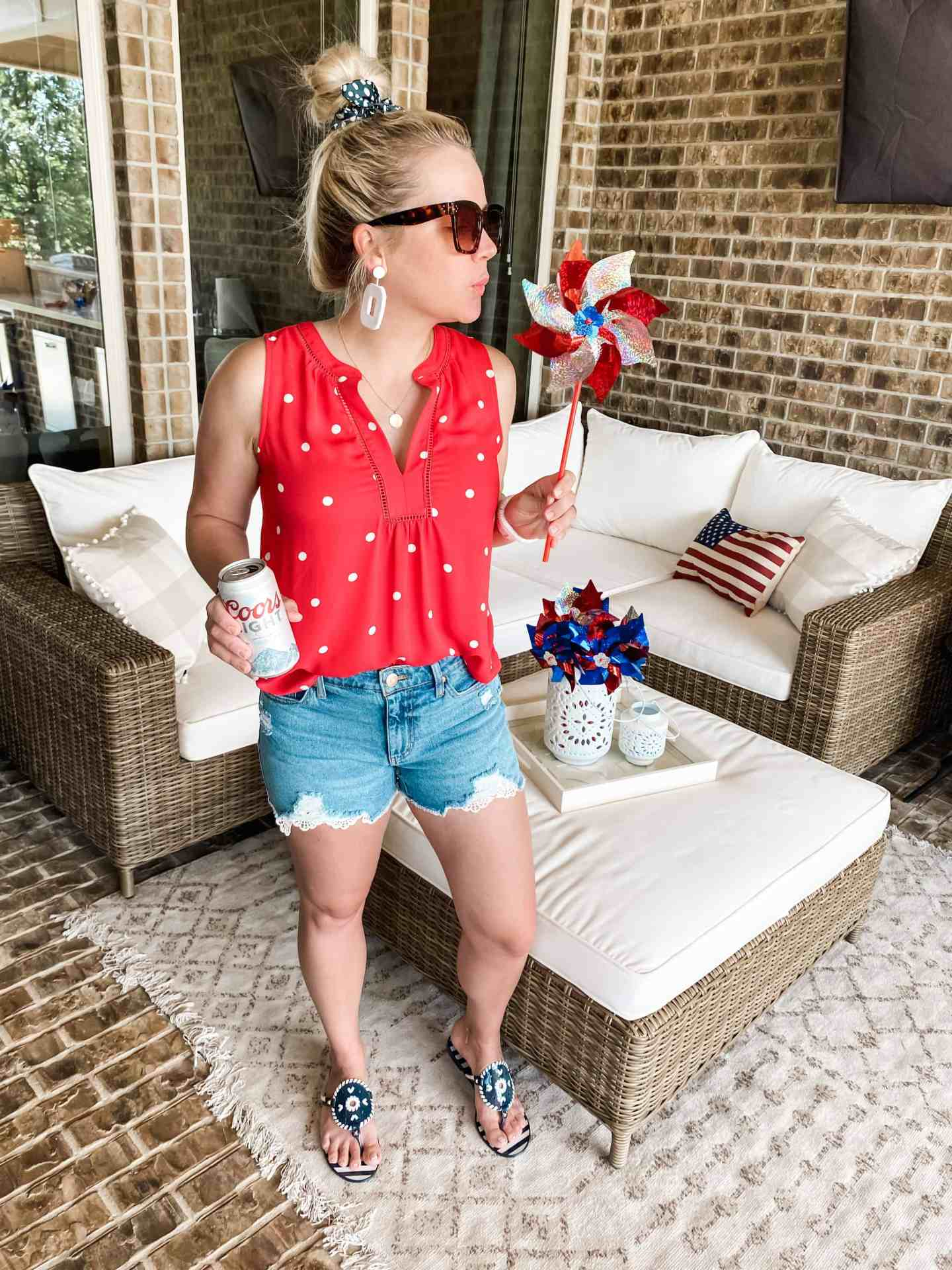 summer outfit patriotic
