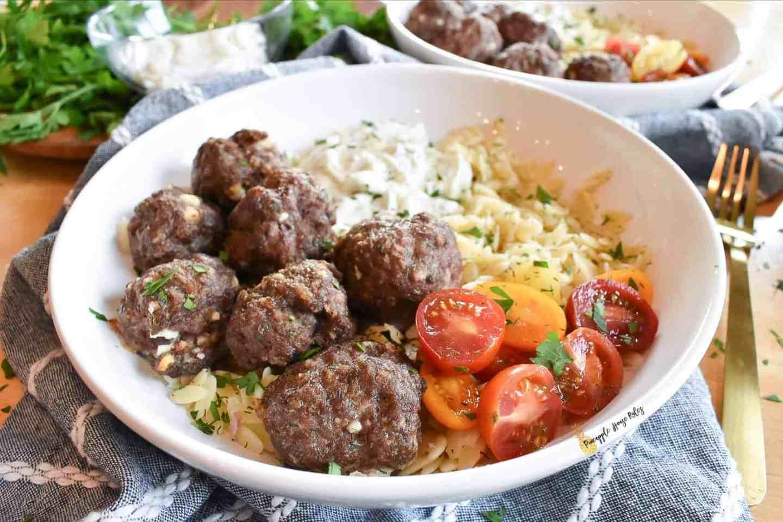 easy Greek Meatballs