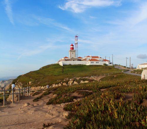 Leuchtturm am Cabo da Roca.