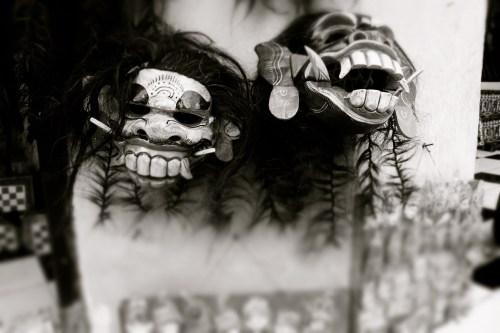 Masken. Bali - Mai, 2014