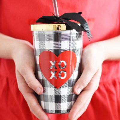 {Valentine's Day} DIY Travel Mug Teacher's Gift