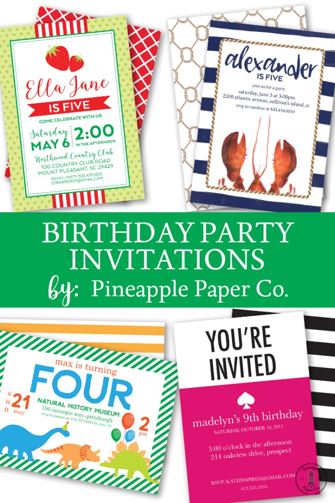 New Birthday Invitations