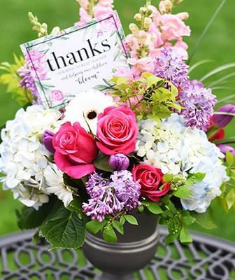 Floral Teacher Appreciation Tag FREE Printable
