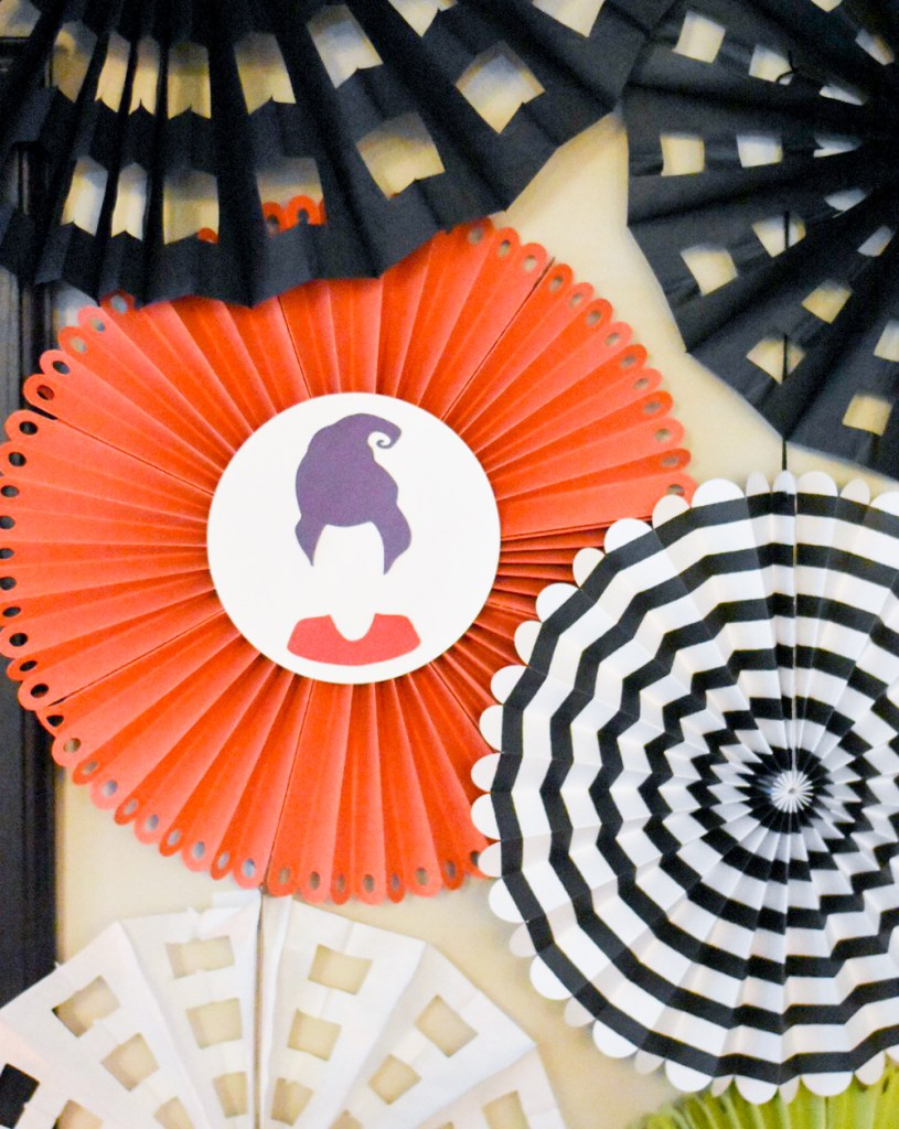 Hocus Locus Party DIY Paper Rosettes by Pineapple Paper Co.