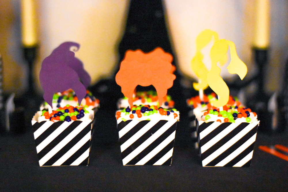 Hocus Pocus Party Cupcakes by Pineapple Paper Co.