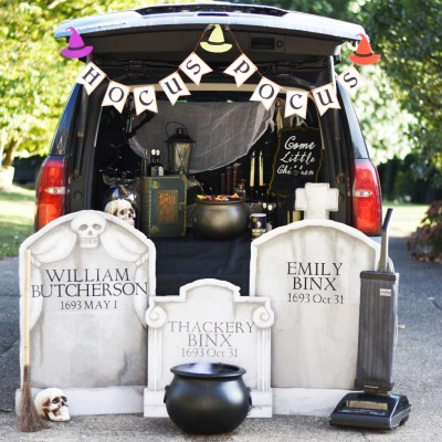 Hocus Pocus Trunk or Treat Ideas