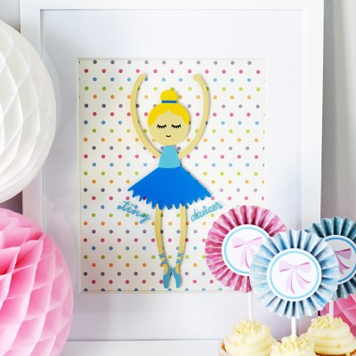 Tiny Dancer Cricut