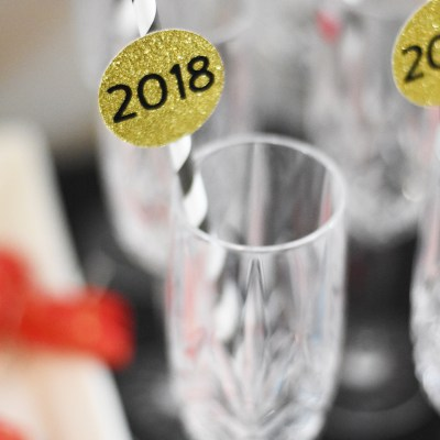 DIY New Year's Eve Party with Cricut