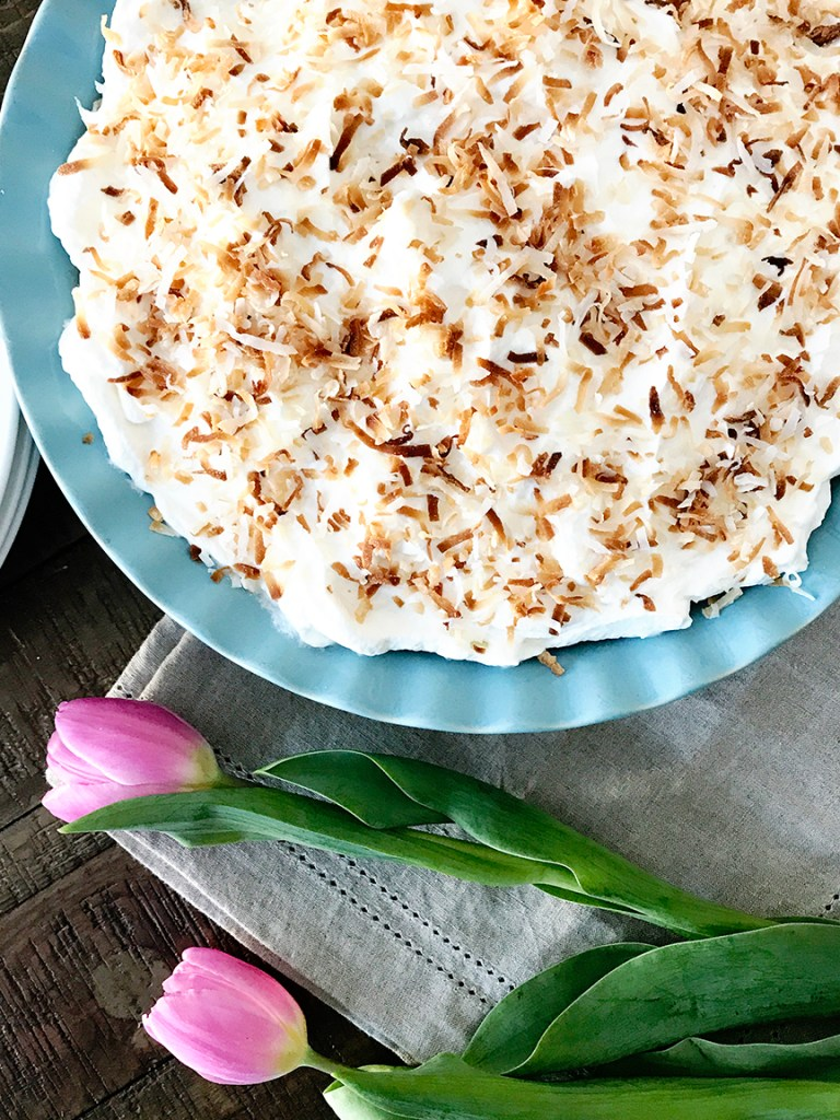 Coconut Cream Pie Recipe for Traditional Southern Easter Dinner