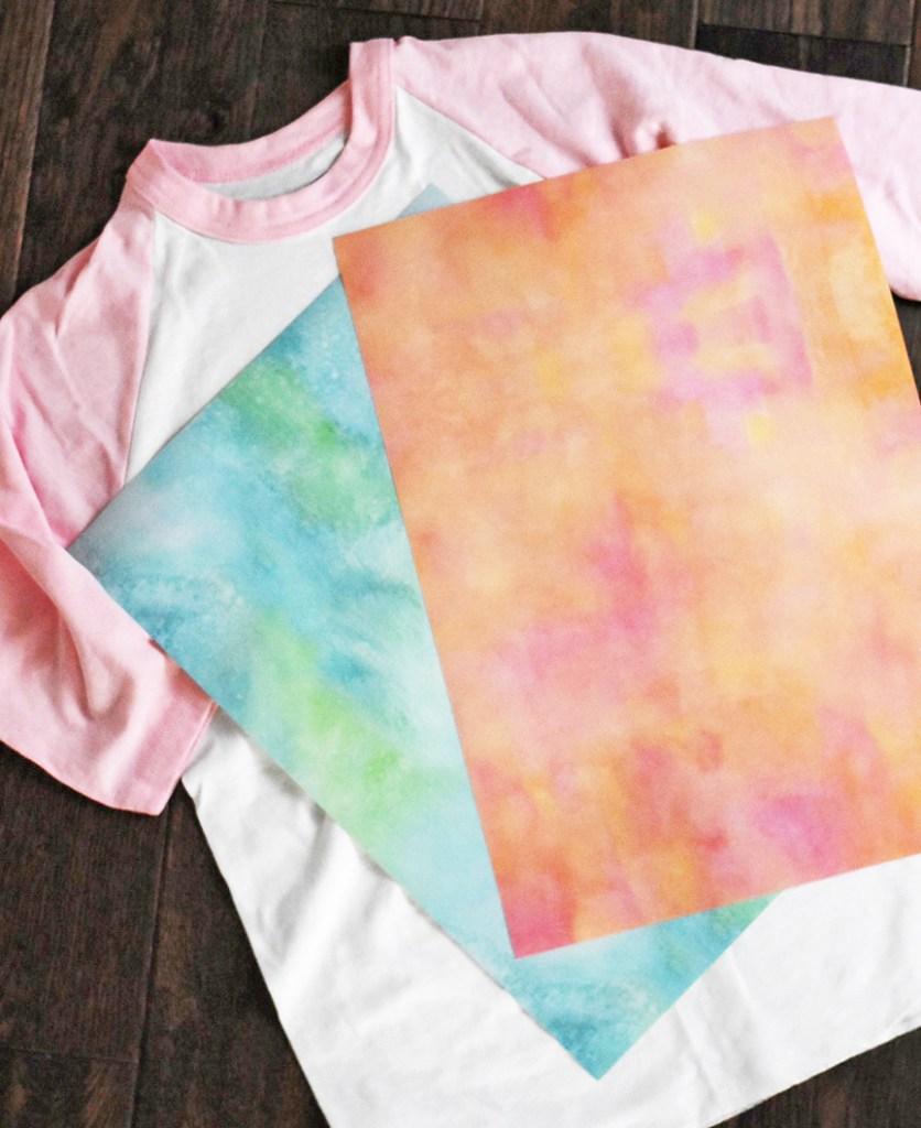 Unicorn Shirt -Mermaid Shirt with Cricut Design Space and Cricut Patterned Iron On Vinyl