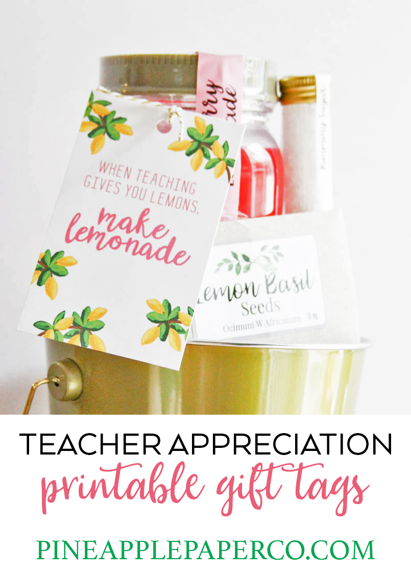 graphic relating to Teacher Appreciation Printable Tags named Trainer Appreciation Present - Thank Yourself Instructor - Instructor