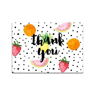 NEW Tutti (Two-tti) Fruity Thank You Cards and Food Tents
