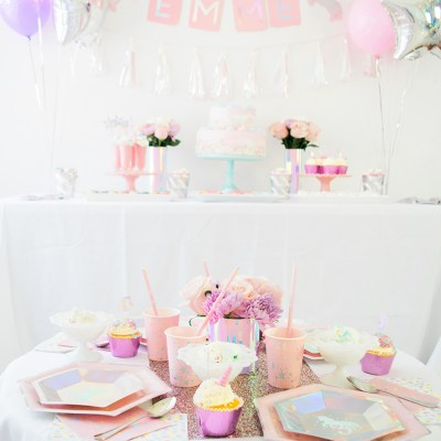 Unicorn Birthday Party Ideas with Martha Stewart, Cricut, and Michaels