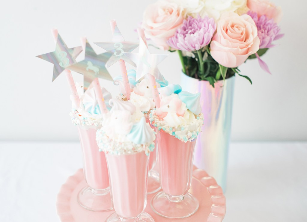 Unicorn Freakshakes by Pineapple Paper Co.