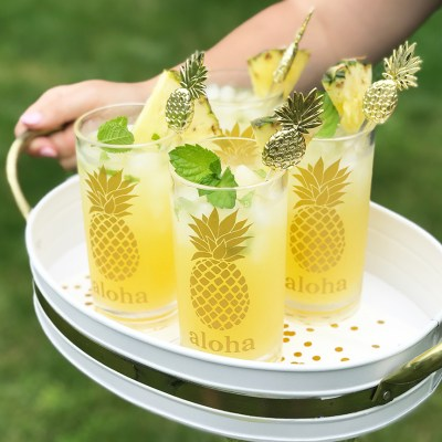 Pineapple Crafts to Make with your Cricut and Silhouette