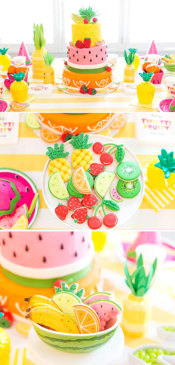 Tutti (Two-tti) Frutti Party Ideas