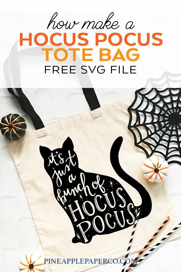Free Hocus Pocus Svg Hocus Pocus Cat Pineapple Paper Co