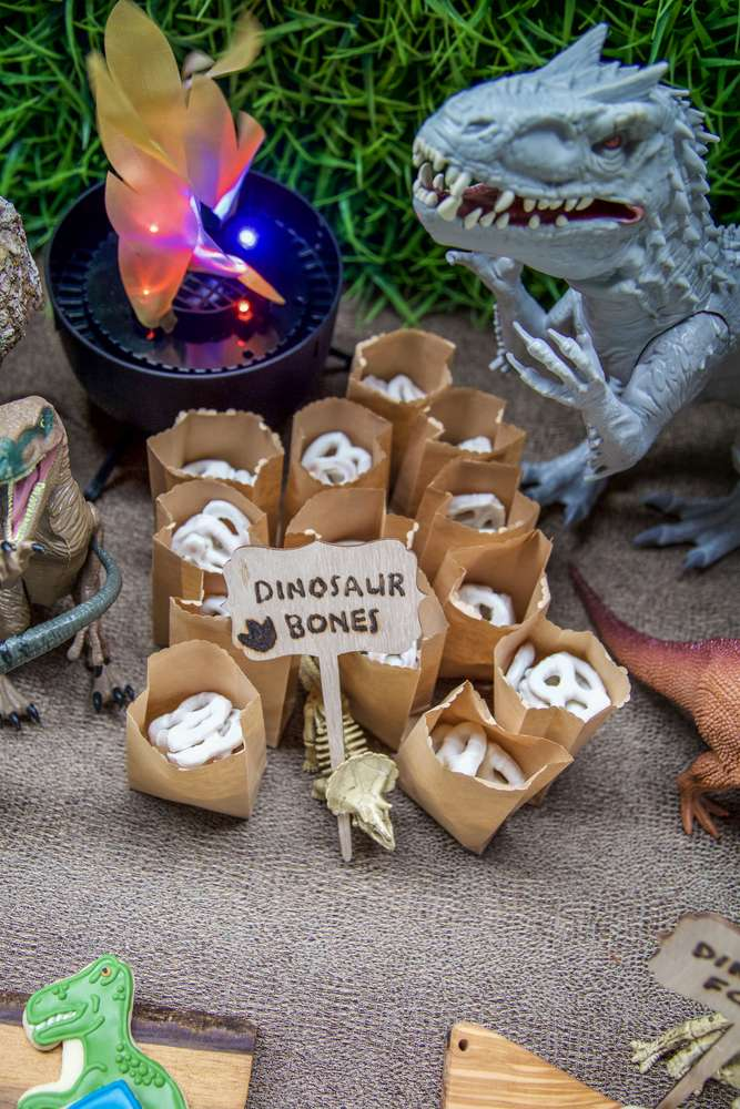 Dinosaur Bones Party Favors - Dinosaur Birthday Favors curated by Pineapple Paper Co.