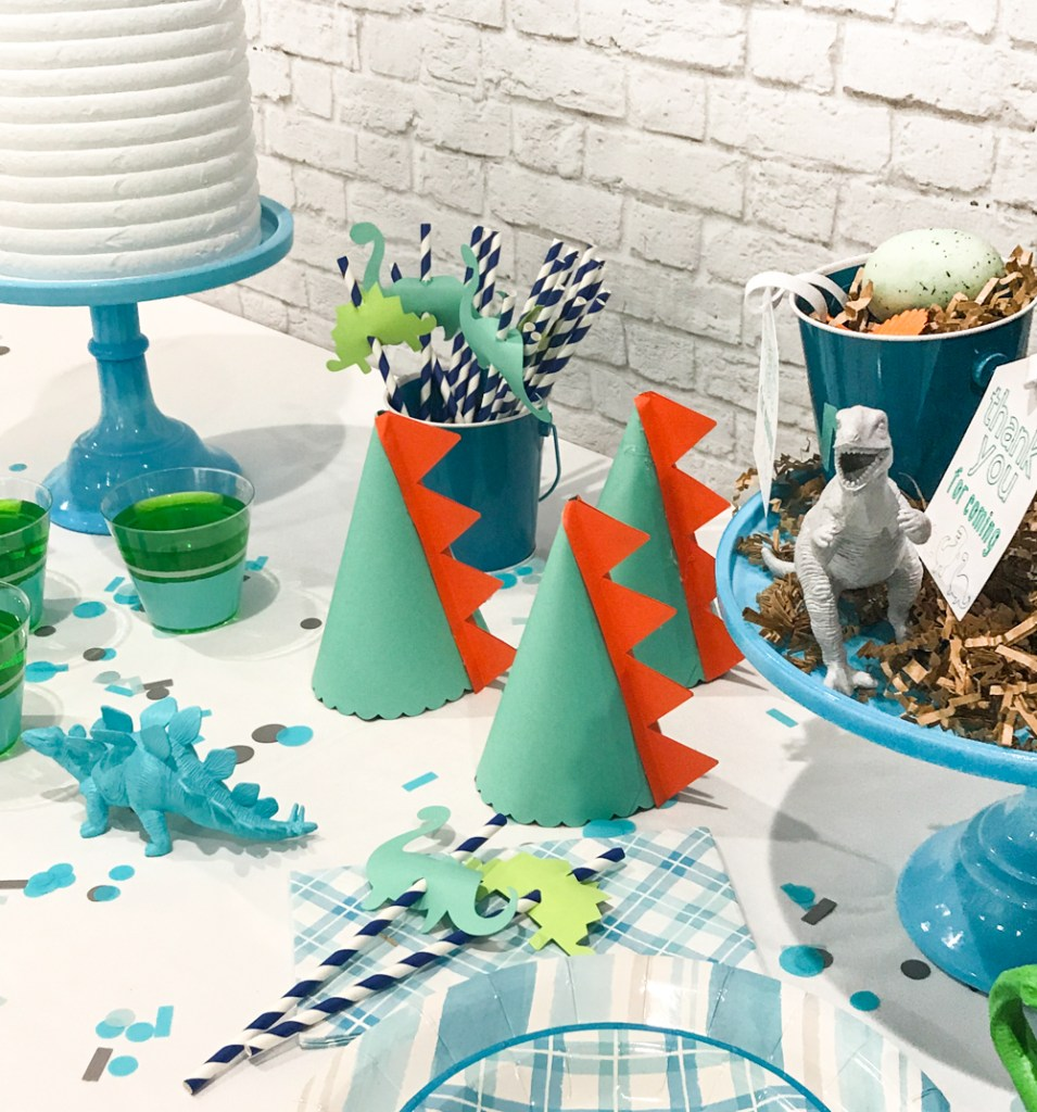 Dinosaur Birthday Party Ideas from Pineapple Paper Co.