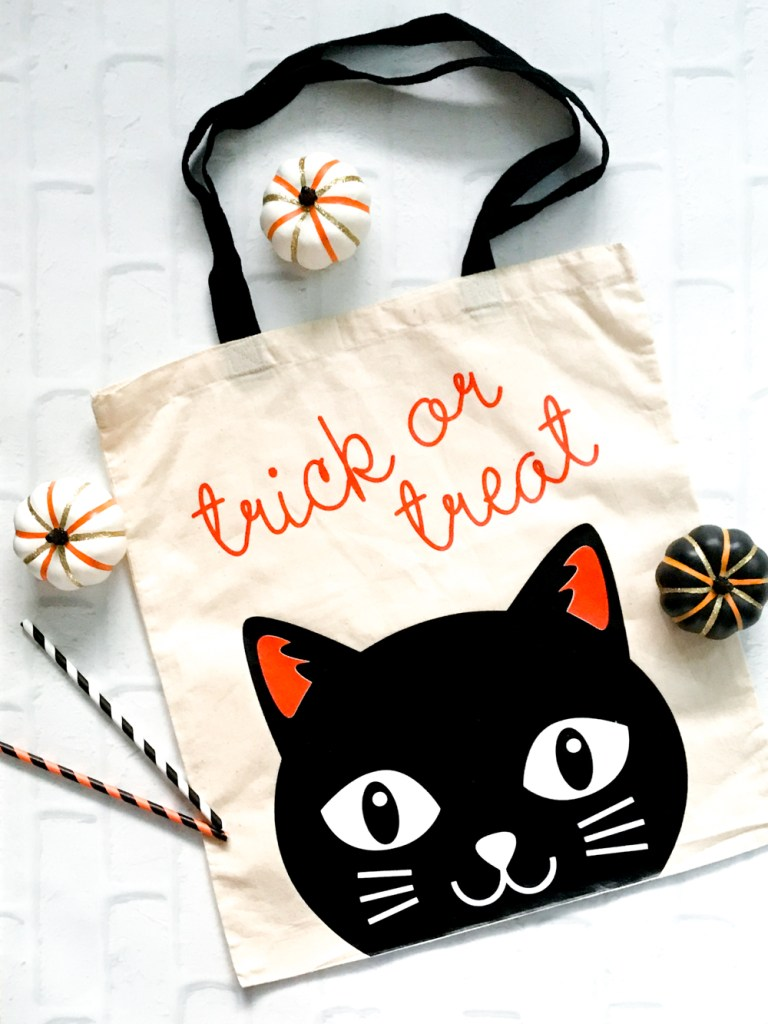 Diy Halloween Trick Or Treat Bags.Diy Black Cat Trick Or Treat Bag Diy Halloween Pineapple