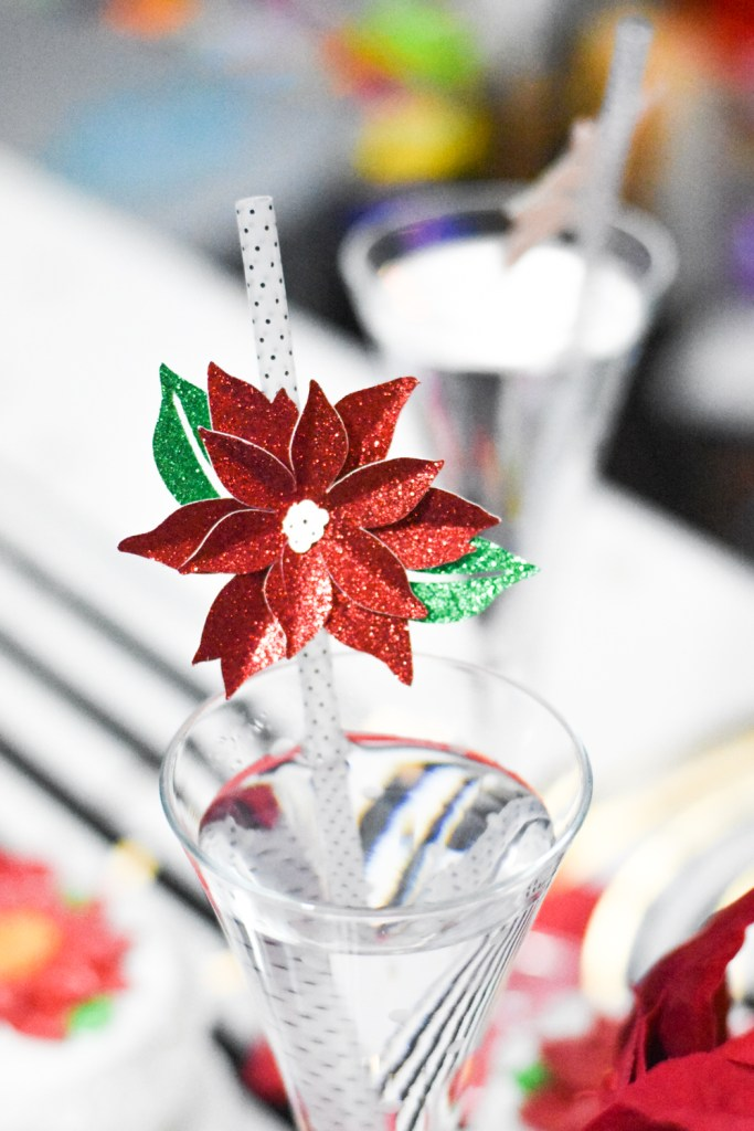 DIY Holiday Party Decorations and DIY Holiday Party Supplies with Martha Stewart, Cricut, and Michaels by Pineapple Paper Co.