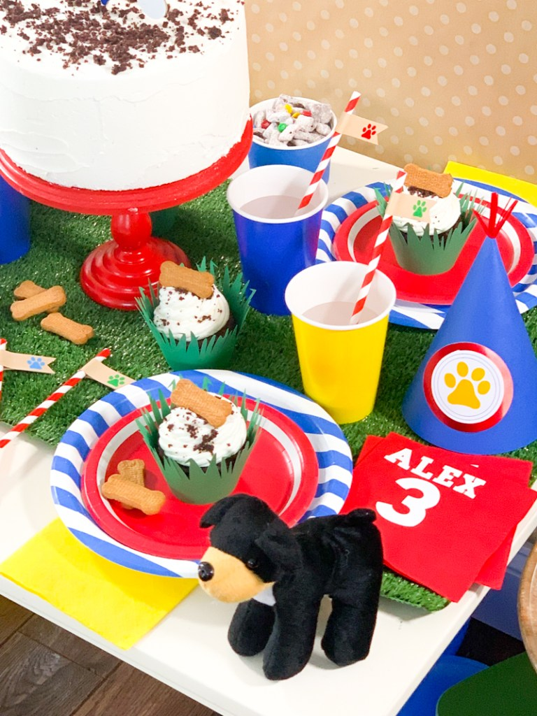 Diy Paw Patrol Birthday Party Ideas With Cricut Pineapple Paper Co