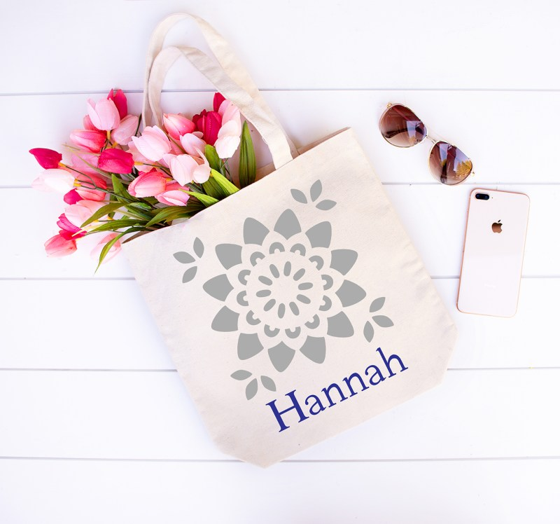 Personalized Tote Bag Cricut Vinyl