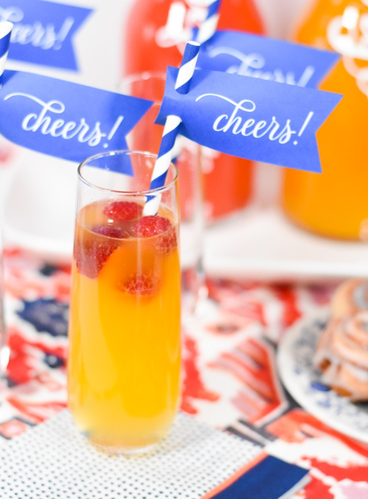 How to Set Up a DIY Mimosa Bar - Pineapple Paper Co