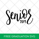 Free Senior 2019 Graduation SVG