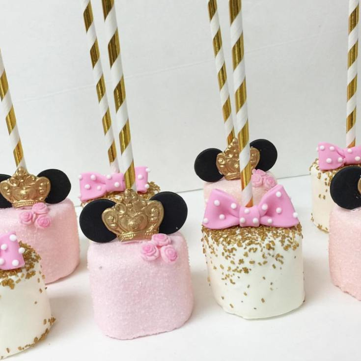 Minnie Mouse Pop Favors