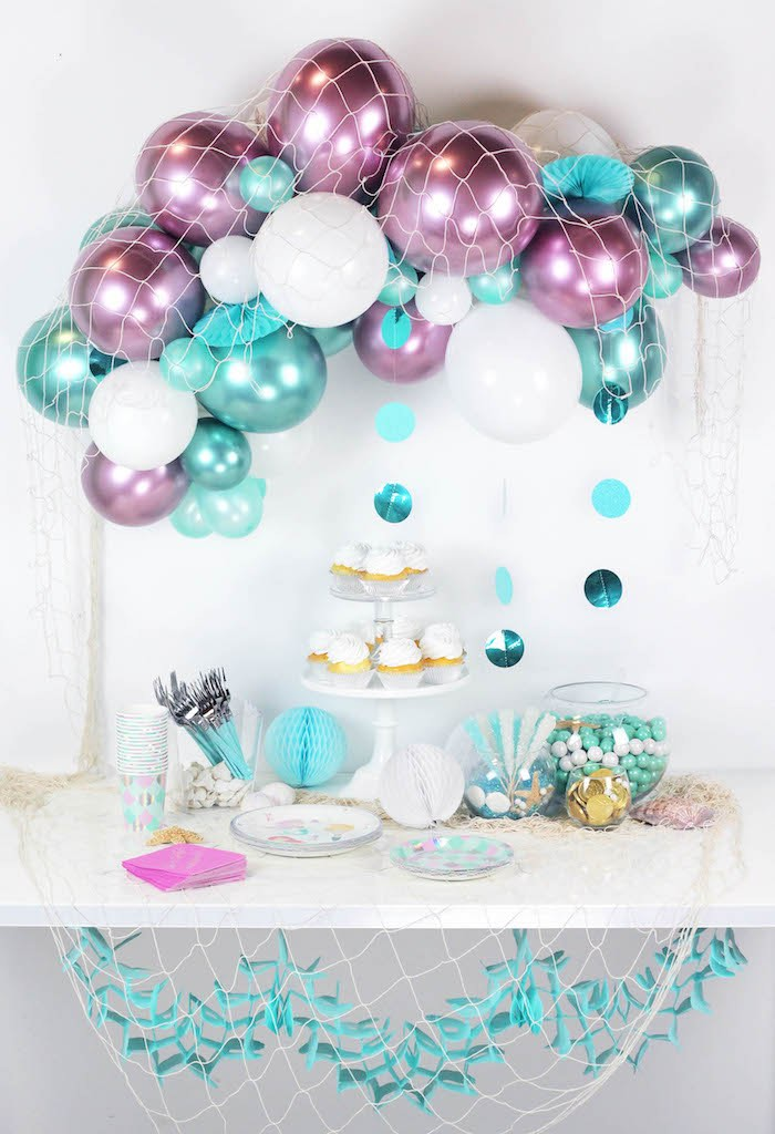 """Wish We Were Mermaids"" Birthday Party"