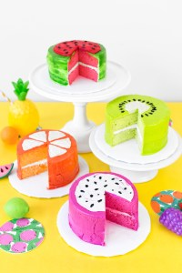 Fruit Slice Cakes by Studio DIY