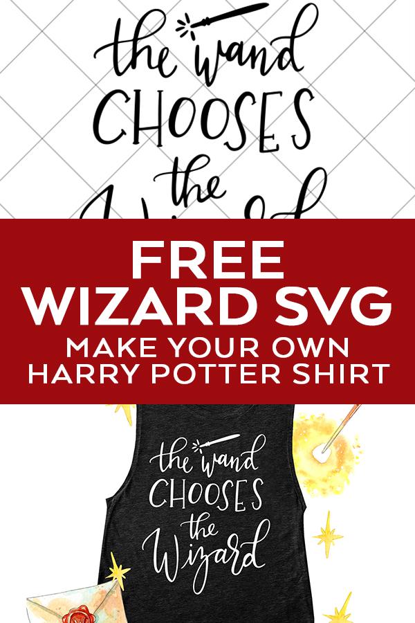 free harry potter wand svg - harry potter svg cut file