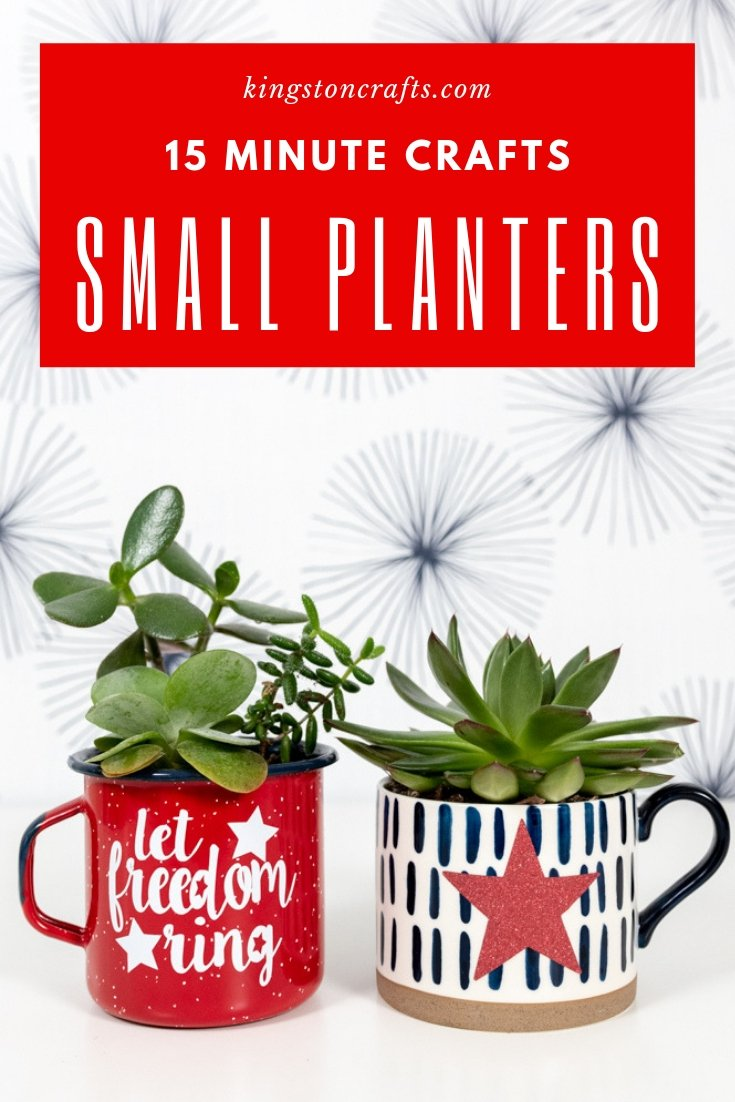 Small Planters - Kingston Crafts
