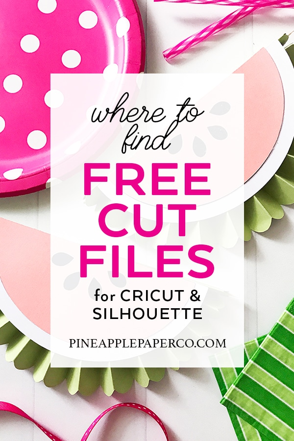 Download Free SVG Files for Cricut & Silhouette - ULTIMATE GUIDE ...