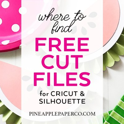 Where to Download Free SVG Files for Cricut and Silhouette