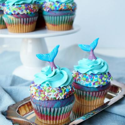Mermaid Cupcake Ideas