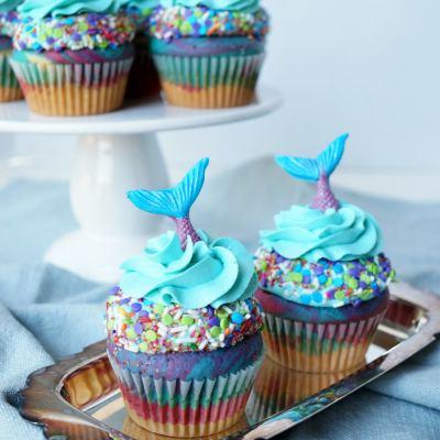 Mermaid Cupcake Ideas