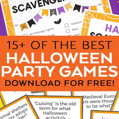 Best Free Printable Halloween Party Games