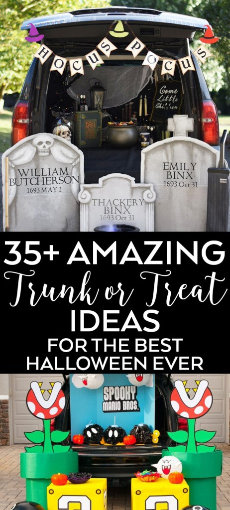 The BEST Trunk or Treat Ideas curated by Pineapple Paper Co.