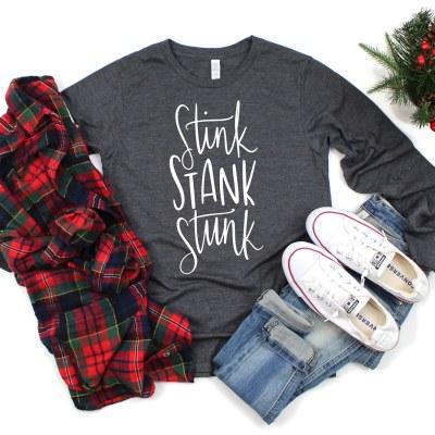 Free Grinch Stink Stank Stunk SVG File