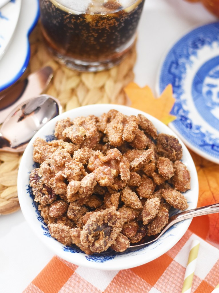 Spiced Nuts Recipe for the Holidays by Pineapple Paper Co.